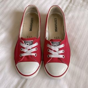 Converse Ballet lace Chuck Taylor Slip Sneakers